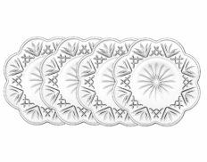 Godinger Set of 4 Dublin Canape Plates