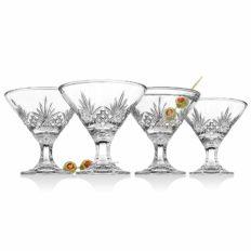 Godinger Martini Glasses, Cocktail Glass - Dublin Collection, Set of 4