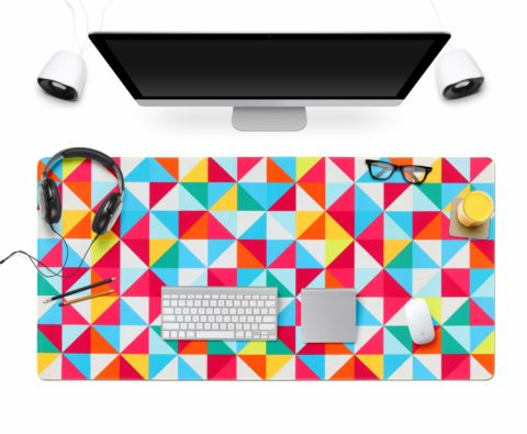 Memory Foam Mouse Pad Keyboard Wrist Rest Support - Ergonomic Support - for Office, Computer, Laptop, Mac - Premium Quality, Durable, Lightweight for Comfortably (Charming Galaxy)