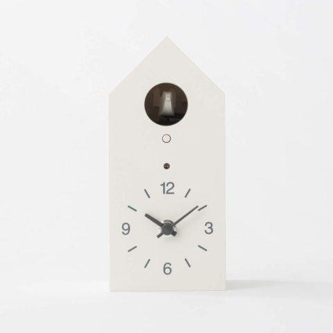 MUJI Cuckoo Clock [White - Standard Size]