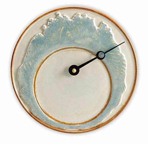 Georgetown Pottery Tide Clock - Ivory Wave