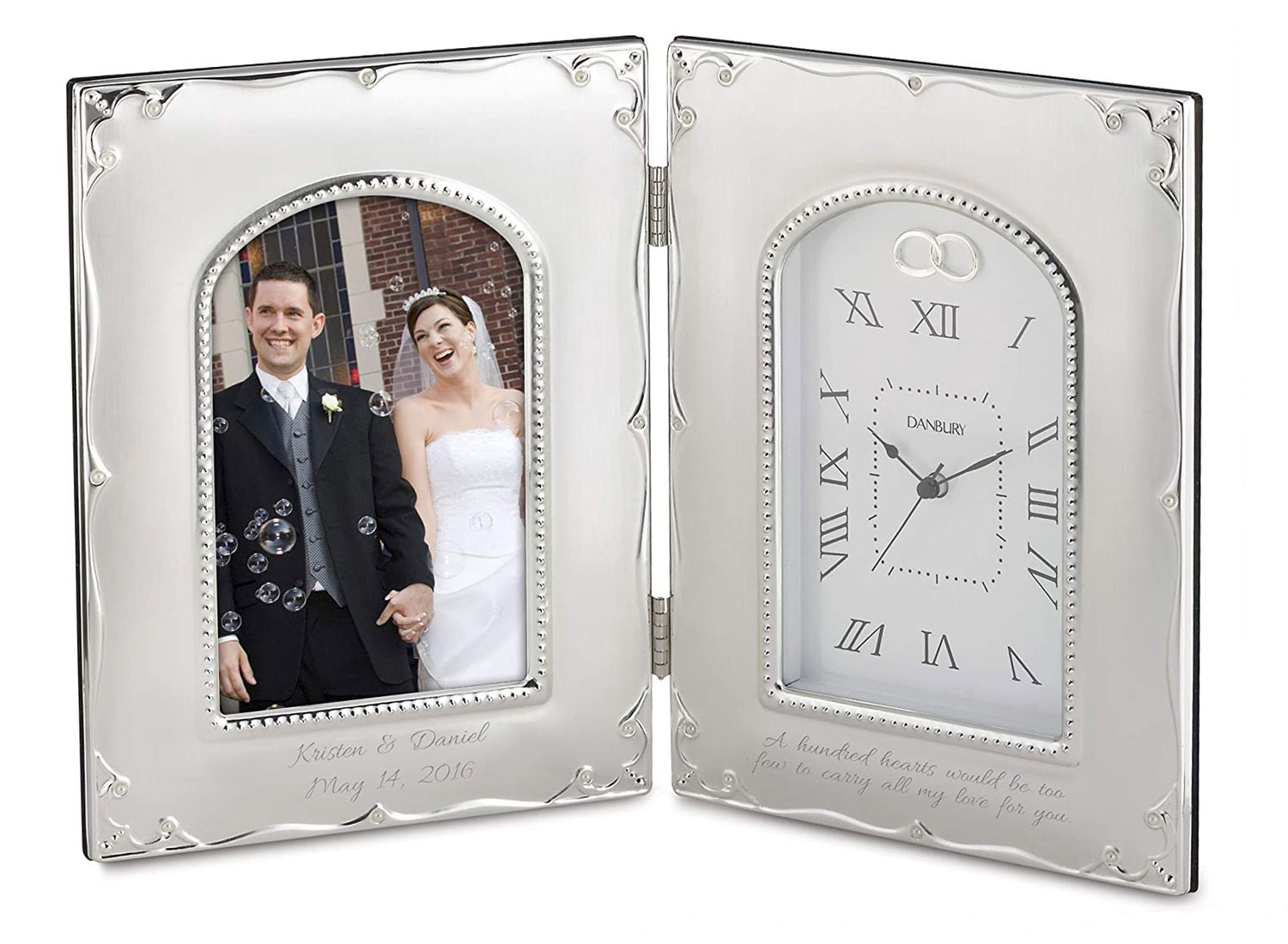 Personalized Forever Yours Frame Clock (Free Engraving) - Things Remembered