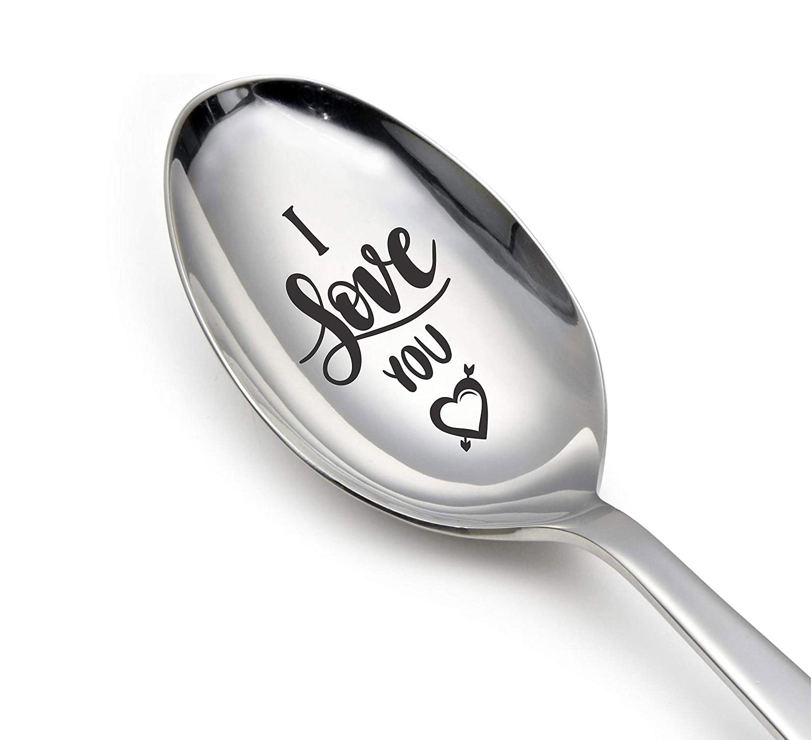 Engraved spoon (I love you)