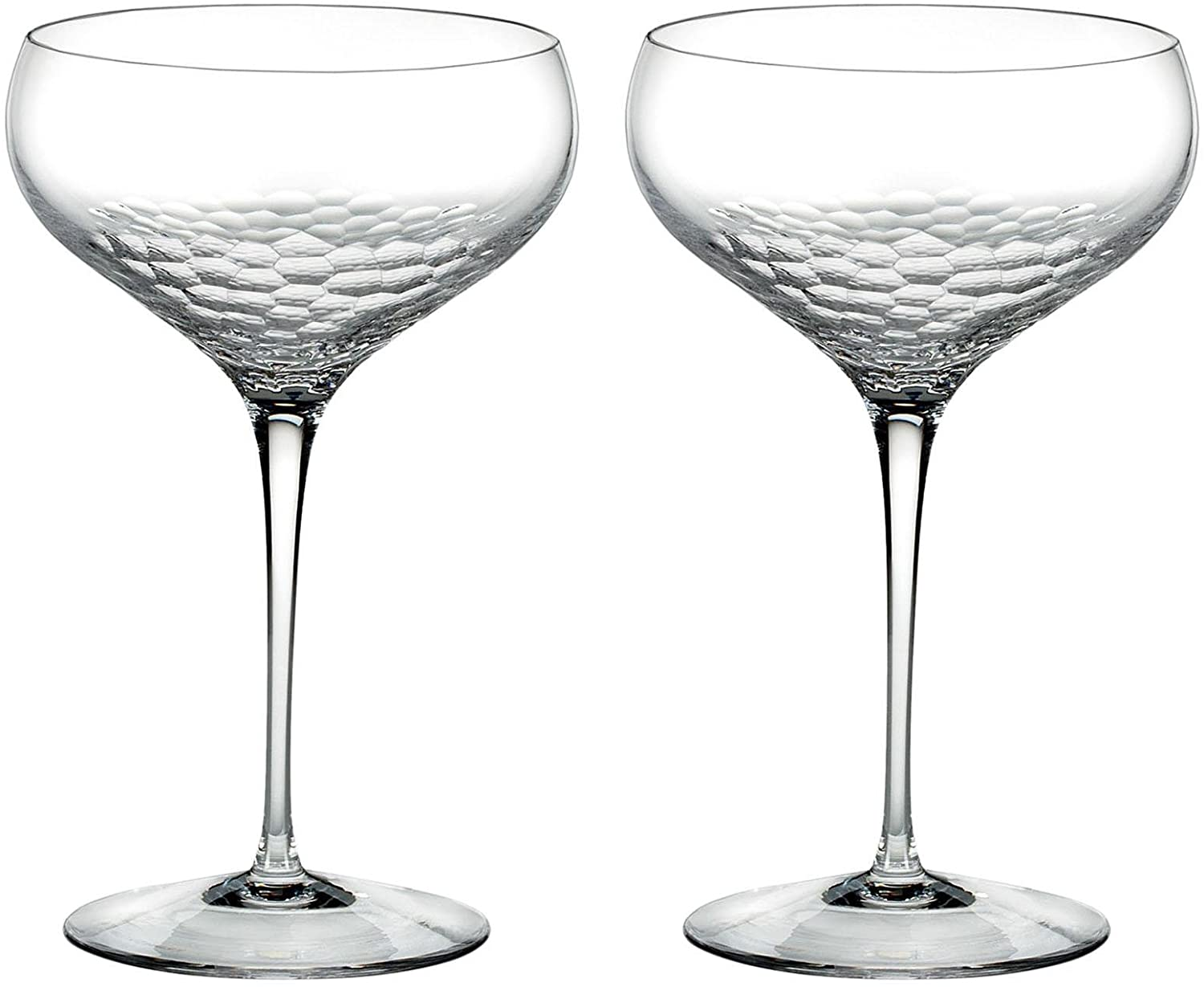 Wedgwood Sequin Saucer Champagne Pair