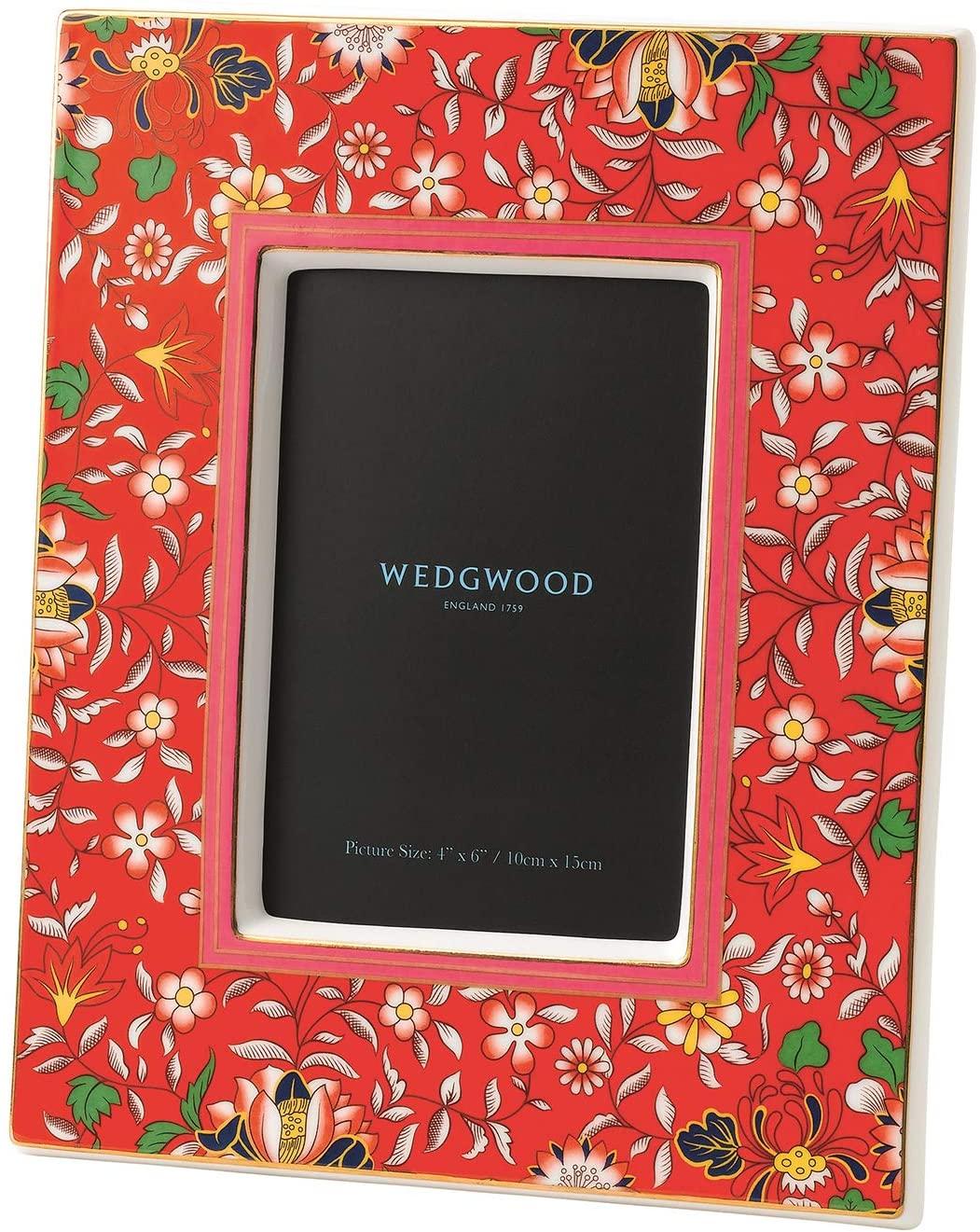 Wedgwood Wonderlust Frame 4x6 Crimson Jewel, 4 x 6