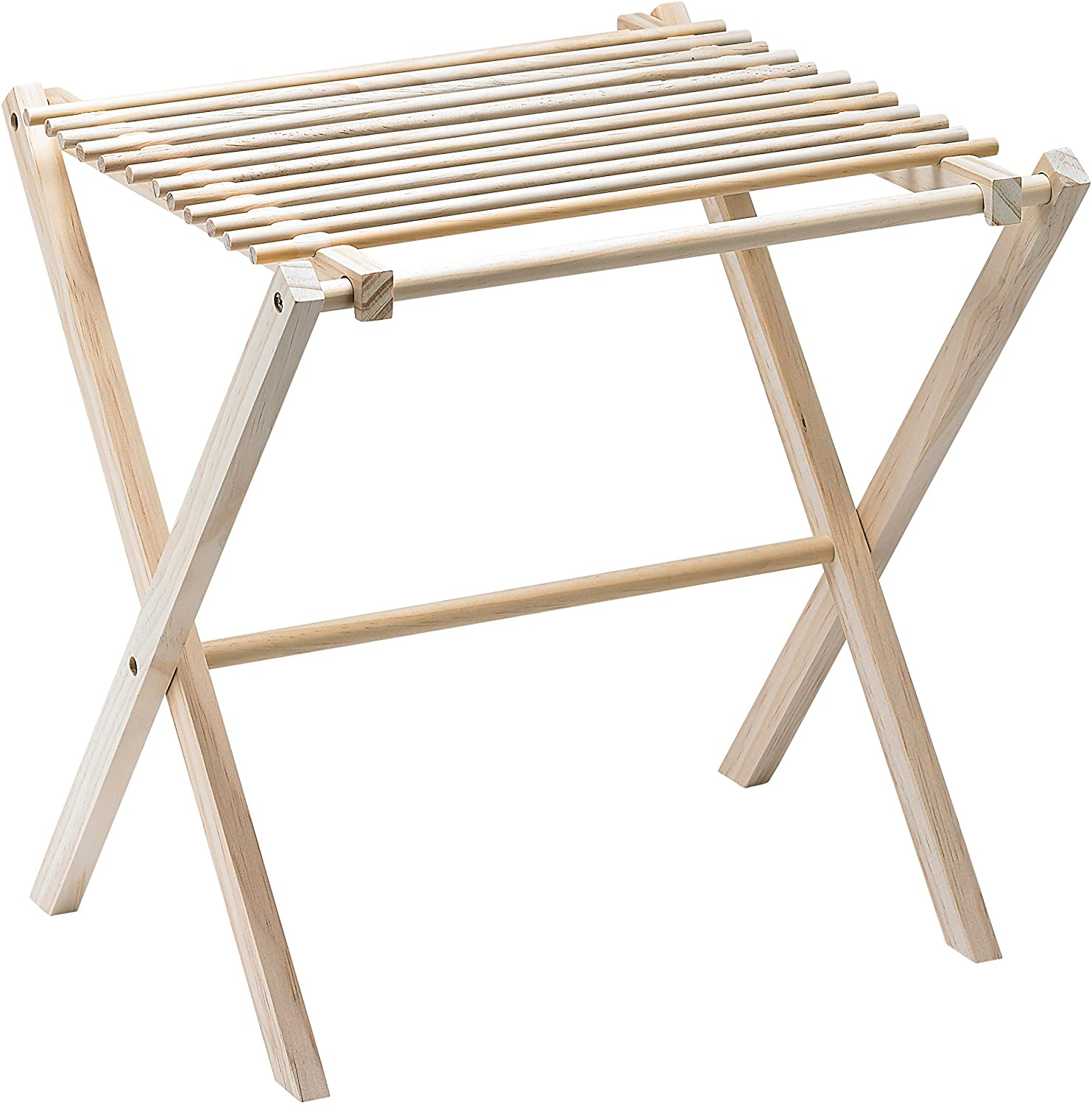 Fante's Collapsible Pasta and Noodle Drying Rack, Natural Wood, 14.5 x 16 x 15-Inches, The Italian Market Original Since 1906